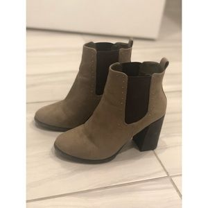 Spring ankle booties